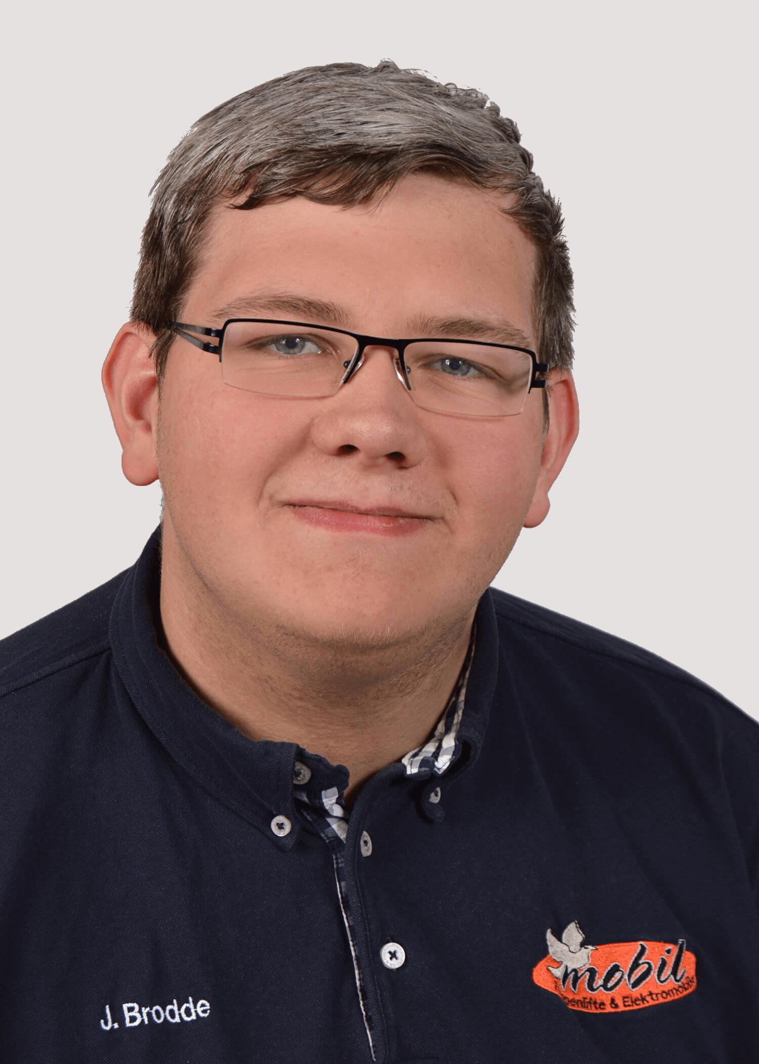 Technischer Mitarbeiter Jonathan Brodde
