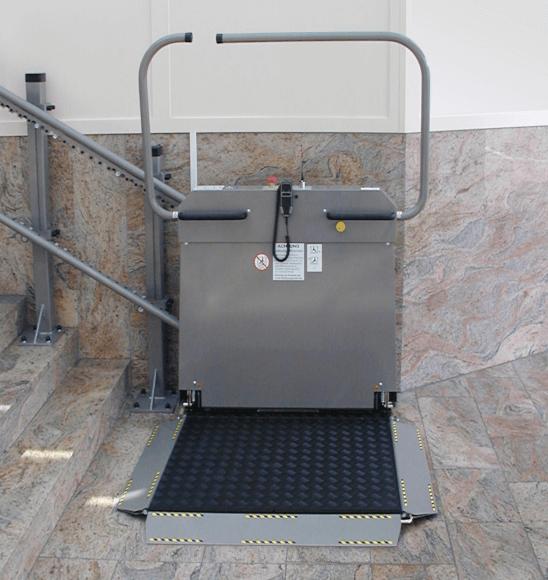 LIPPE-Plattform-Treppenlift-Konstanz
