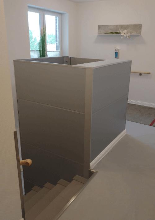 Aufzug Barduva SB 200 mobil Treppenlifte Heiko Neumann